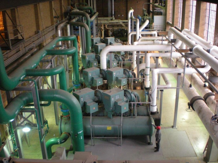 Surface Refrigeration Plant